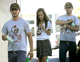 Photos of Shia LaBeouf's Hand After Car Accident, With Isabel Lucas in LA