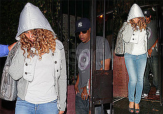 Photos of Beyonce and Jay-Z Leaving the Waverly Inn in NYC