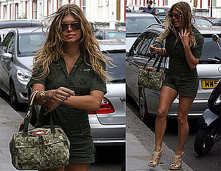 Photos of Fergie Arriving at Her Hotel in London
