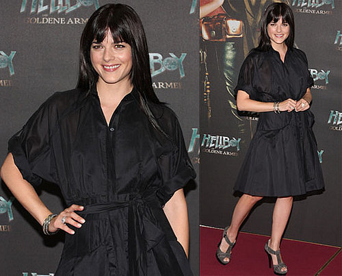 Photos of Selma Blair at Hellboy II Photocall
