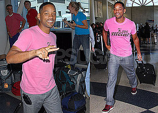 Photos of Will Smith at LAX