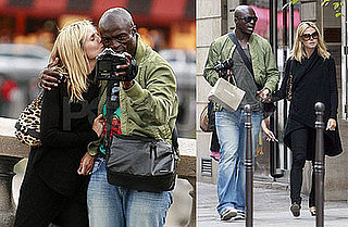 Romantic Photos of Heidi and Seal Kissing in Paris