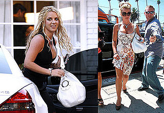 Photos of Britney Spears Leaving the Recording Studio in LA
