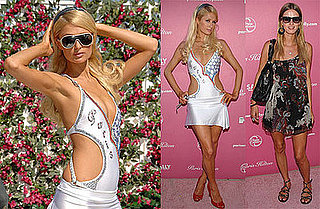 Photos of Paris Hilton Launching Her New Line of Headband Extensions, The Bandit