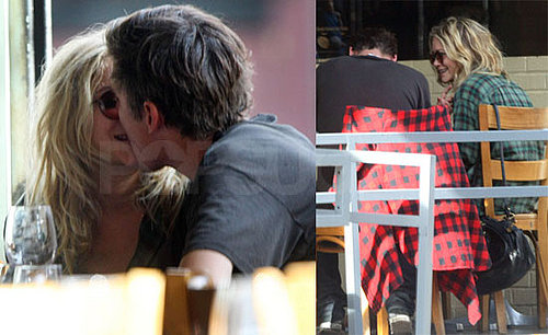 Photos of Mary-Kate Olsen Kissing Boyfriend Nate Lowman at Lunch