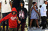 Photos of Rihanna and Chris Brown Holding Hands
