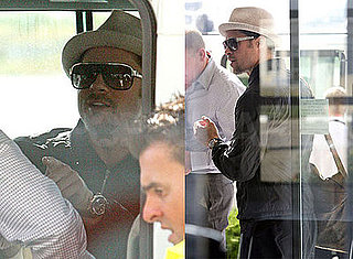 Photos of Brad Pitt Headed to Toronto Film Festival