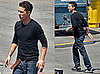 Photos of Shia LaBeouf on the Set of Transformers 2 in LA