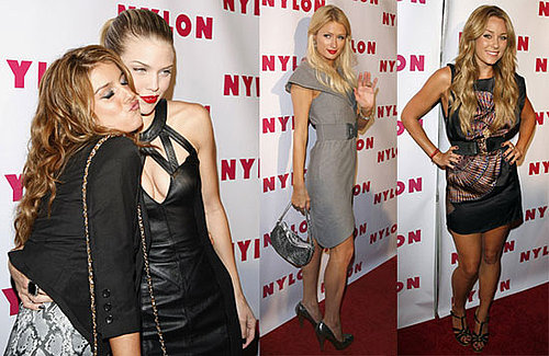 Photos of Lauren Conrad, Paris Hilton, the Cast of 90210 at Nylon Magazine's Party in LA