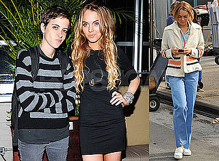 Photos of Lindsay Lohan and Samantha Ronson in NYC, Recently the Two Blogged About 9/11