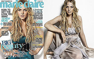 Photos of Lindsay Lohan in Marie Claire