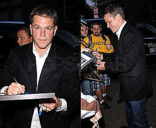 Matt Damon at the Toronto Film Festival For OneXOne Gala