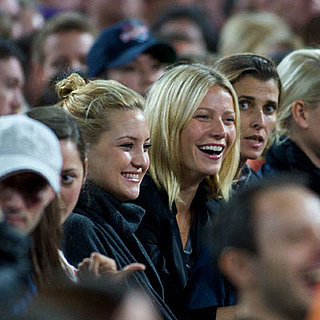 Gwyneth Paltrow and Kate Hudson Check Out Madonna's Show in London