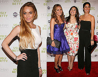 Photos of Lindsay Lohan, America Ferrera At Premiere of Ugly Betty