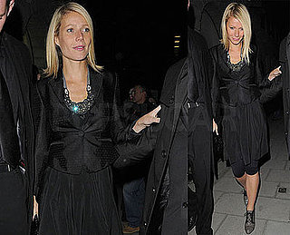 Photos of Gwyneth Paltrow at the Natural History Museum in London