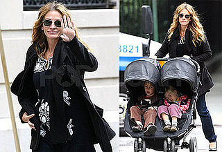 Photos of Julia Roberts With Phinnaeus and Hazel in NYC