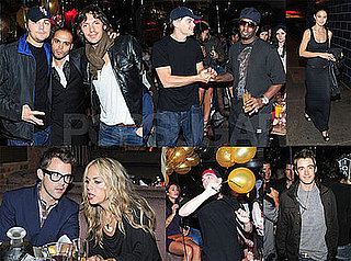Photos of Leonardo DiCaprio at 1OAK For Richie Akiva's Birthday