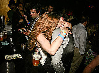 Drew Barrymore and Gossip Girl's Ed Westwick Kissing
