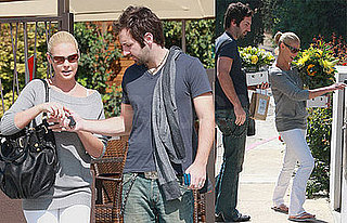 Photos of Katherine Heigl and Josh Kelley Buying Flowers