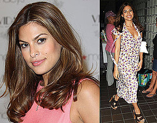 Photos of Eva Mendes in Miami; She Answers All Of Our Burning Beauty Questions