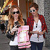 Lindsay Lohan and Samantha Ronson Go Shopping