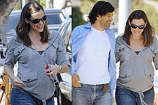 Jennifer Garner and Her Lunch Buddy Hit Le Pain