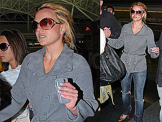 Photos of Britney Spears at JFK