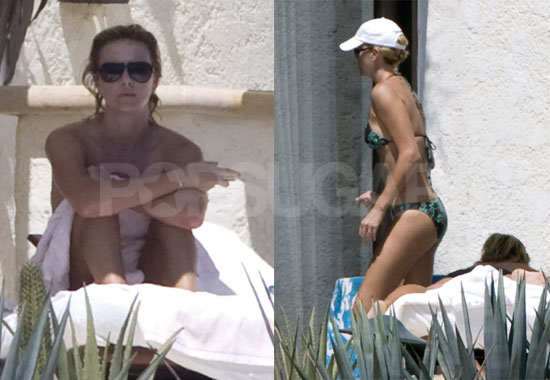 Charlize on Vacation in Cabo