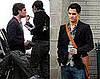 Photos of Ed Westwick and Penn Badgley Filming Gossip Girl in Brooklyn