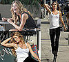 Photos of Gisele Bundchen in Short Shorts Shooting a Music Video in LA