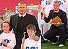 Photos of David Beckham Launching His New Healthy Food Line For Kids