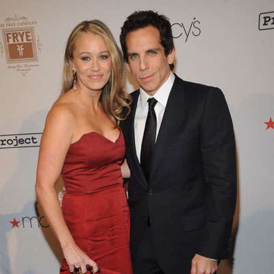 No. 6 Ben Stiller and Christine Taylor