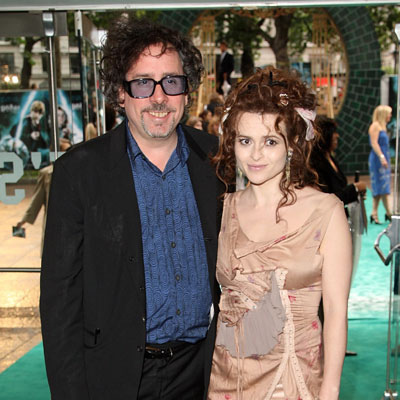 No. 14 Tim Burton and Helena Bonham Carter
