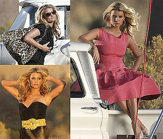Photos of Jessica Simpson Photo Shoot With Brett Ratner in Desert