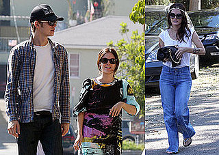 Photos of Rachel Bilson and Hayden Christensen Out in LA