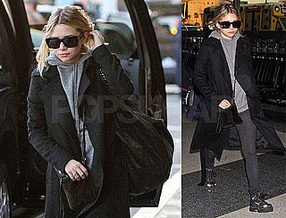 Photos of Ashley Olsen — Who Appears on Oprah Today — at LAX