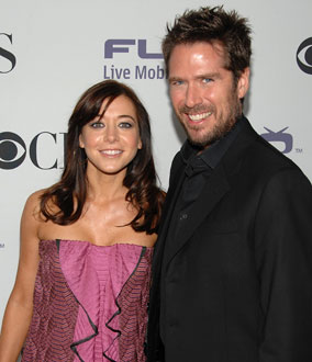 Photo of Alyson Hannigan and Alexis Denisof, Recently Announced They Are Pregnant With First Child