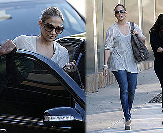 Jennifer Lopez Is Wheeling and Dealing in LA