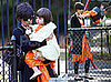 Photos of Katie Holmes and Suri Cruise Wearing Matching Orange Dresses