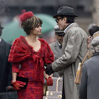 Daniel Day-Lewis and Penelope Cruz Film Nine