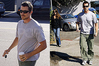 Photos of Christian Bale in LA