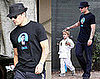 Photos of Ryan Phillippe in an Obama Shirt Bringing Deacon to Karate