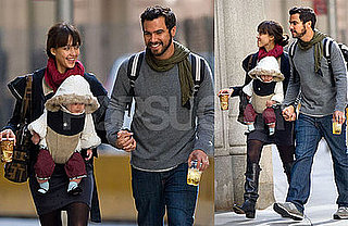 Photos of Jessica Alba and Cash Warren With Honor Warren in NYC
