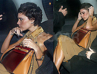 Photos of Victoria Beckham and a Birkin in London