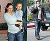 Photos of Ben Affleck, Jennifer Garner, Violet Affleck Voting in LA