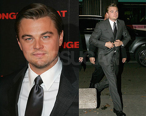 Photos of Leonardo DiCaprio at the Body of Lies Premiere in Paris