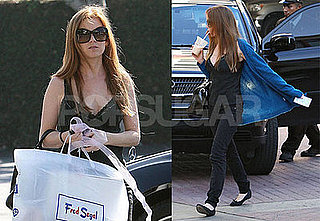 Photos of Isla Fisher Shopping at the Grove