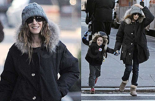 Photos of Sarah Jessica Parker — Who Says SATC Negotiations Aren't Done Yet — Out With Her Son in NYC