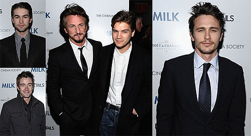 Photos from NYC Premiere of Milk Including James Franco, Robert Buckley, Chace Crawford and Others