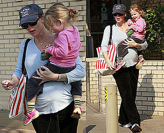 Photos of Jennifer Garner and Violet Affleck Grocery Shopping in LA